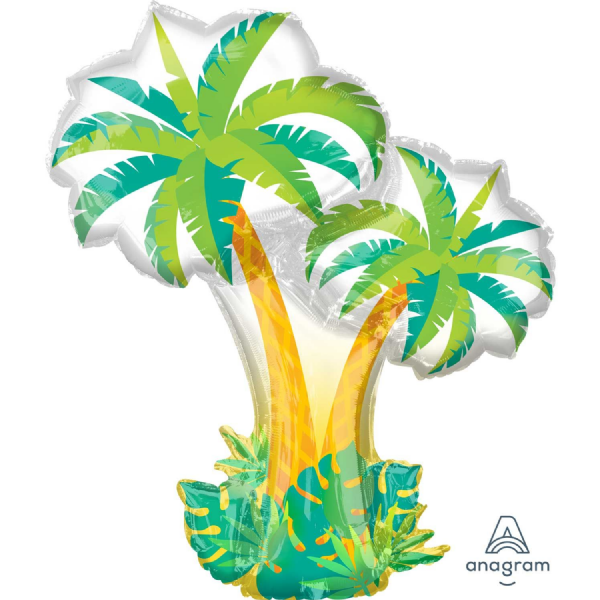 Tropical Palm Trees SuperShape™ Foil Balloon